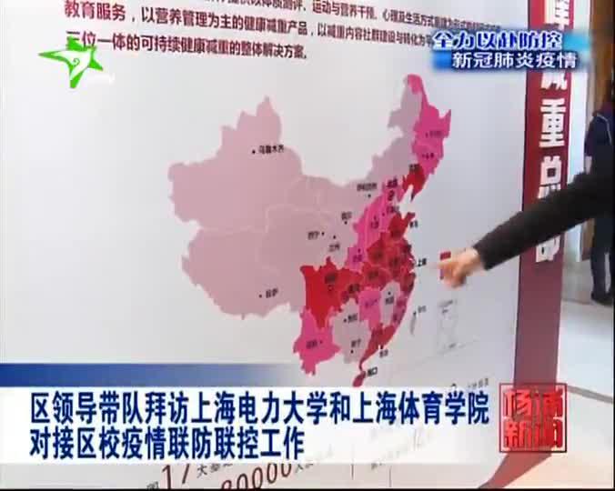 区领导带队拜访上海电力大学和上海体育学院对接区校疫情联防联控工作