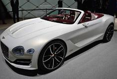 好看的汽车图片:宾利EXP 12,高颜值概念车