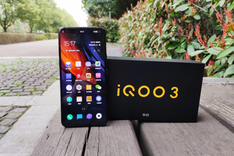 iQOO 3 5G驭影黑开箱图赏与快速上手
