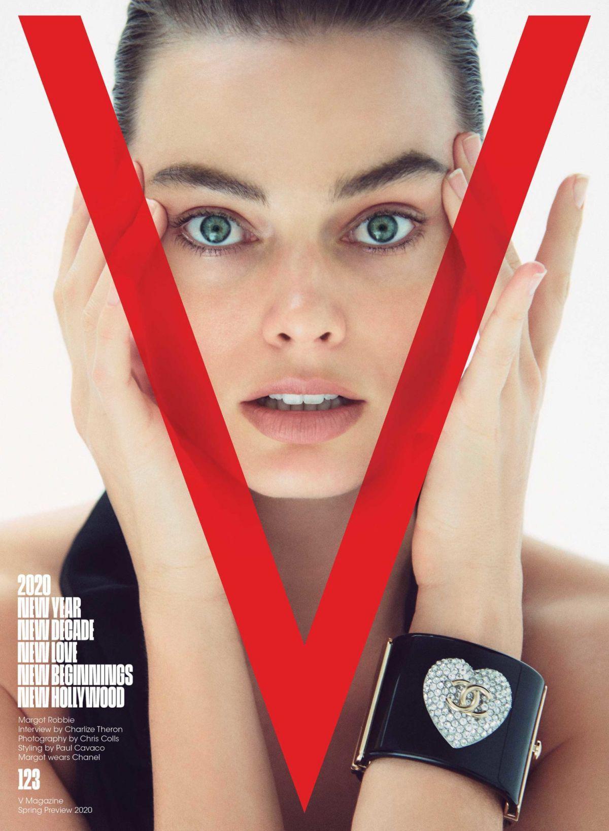 Margot Robbie in V Magazine, Spring 2020