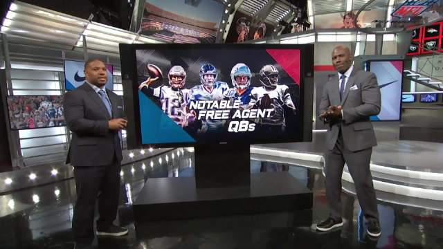 @NFL橄榄球 Terrell Davis和Maurice Jones--Drew讨论NFL自由市场四位