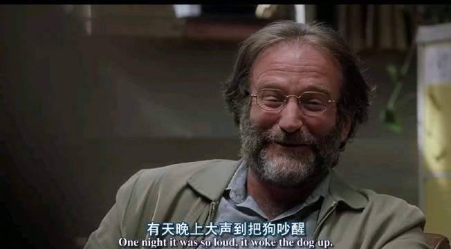 《心灵捕手》这段里面心理医生尚恩(罗宾•威廉姆斯饰)给威尔(马特