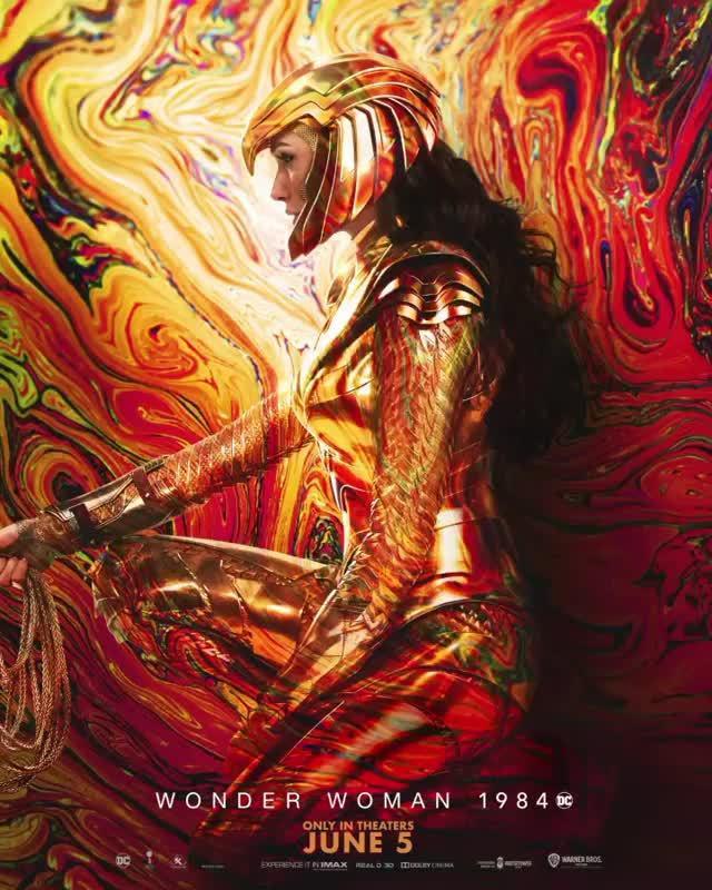 《Wonder Woman 1984》全新电影海报释出,暂未有延期公告