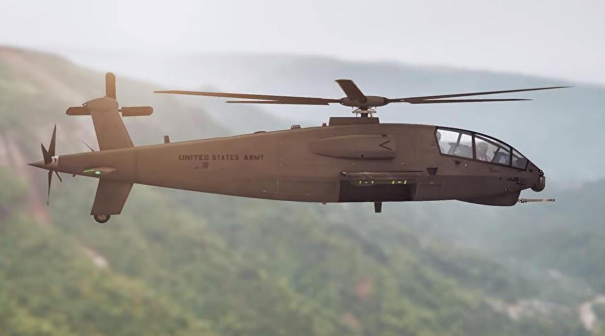 美军公开全新武直方案,性能远超科曼奇,一旦服役将领先10年