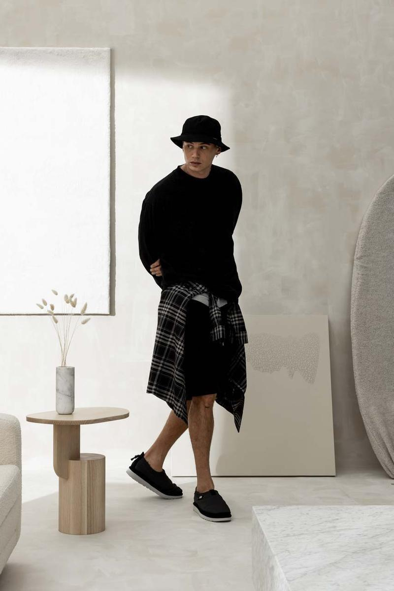 Stampd 和UGG合作打造了一系列联名单品,以经典鞋款Tasman为蓝本
