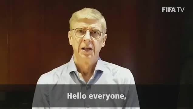 国际足联发布抗疫视频,温格、穆里尼奥等足坛名人助力