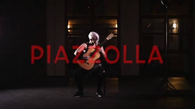 古典吉他演奏皮亚佐拉《布宜诺斯艾利斯之秋》,好听经典!