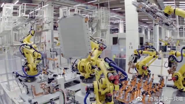 奥迪汽车制造中心实拍加工场面,绝对配得上豪车的价格,太震撼了