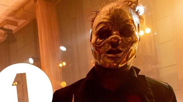 重金属乐队Slipknot最新暴力现场!表演热单《Psychosocial》