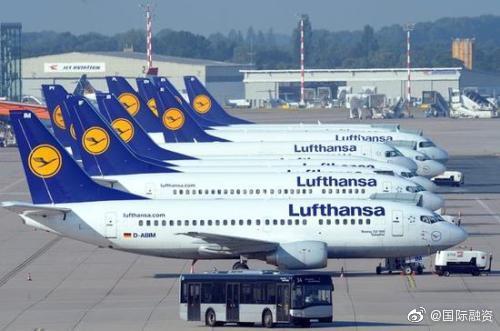 汉莎航空将削减95%的运力 称疫情带来前所未有的威胁
