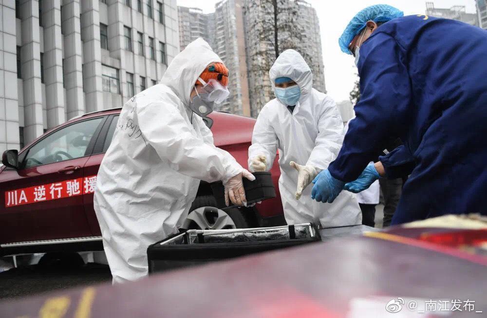 新冠肺炎疫情发生后,得知武汉很多医护人员吃不上热饭