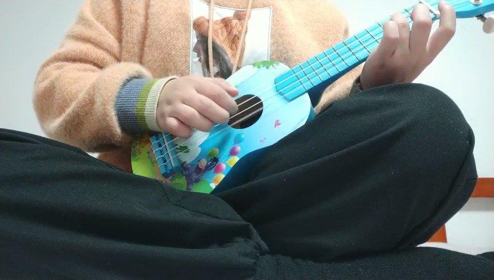 尤克里里单音歌曲练习