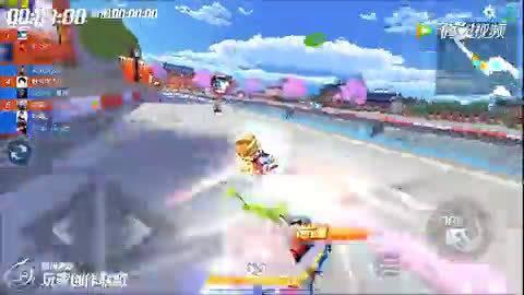 跑跑卡丁车:经典地图1分46秒,主播左左冠军时刻