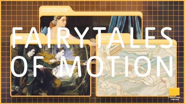 动作的童话 / Fairytales of Motion by Alan Warburton - Tate Excha