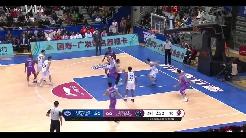 暴力至上 | 陶汉林19-20赛季前30轮扣篮集锦 B站 11_Hzx