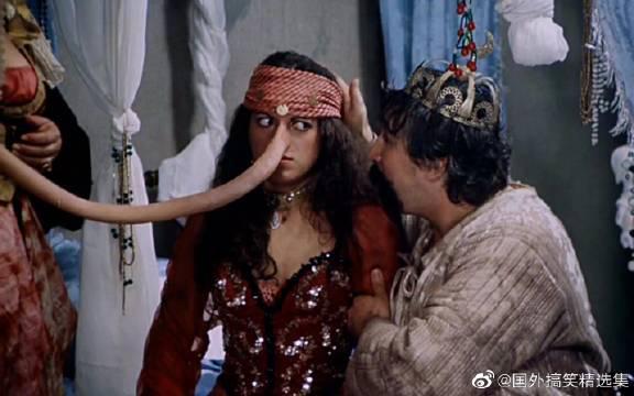 公主得怪病,鼻子疯狂长了几百公里,到了国外差点引起战争