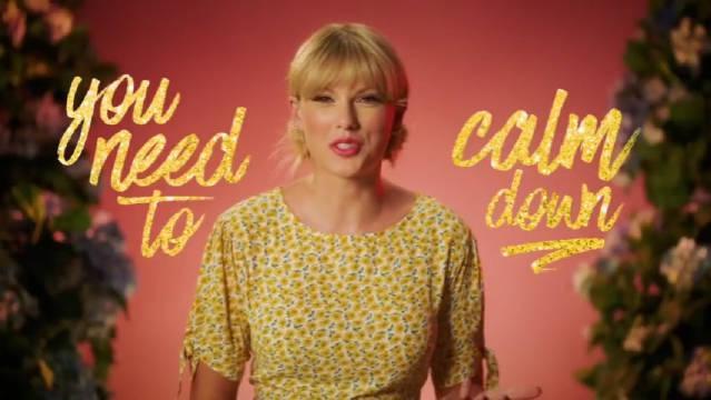 霉霉代言apple music广告释出!一起来看看吧!