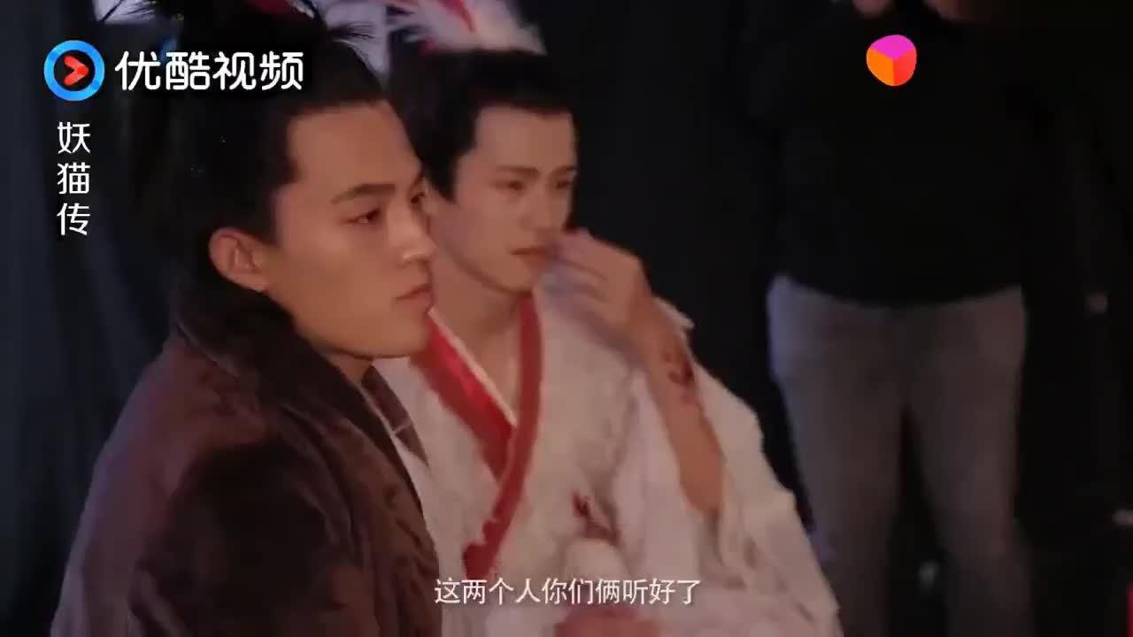 """《妖猫传》花絮 刘昊然欧豪光脚穿""""透视装"""" 网友:释放天性啊"""