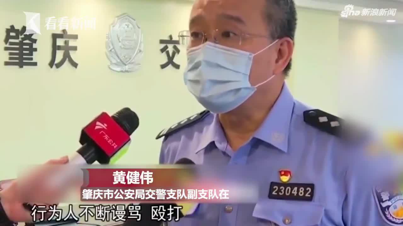 视频|遮挡号牌被拦下!男子暴力抗法 还朝民警吐口水