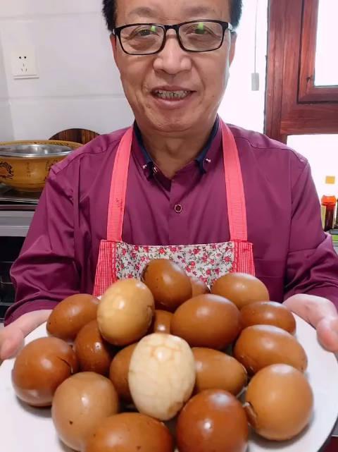 陕西老乔小乔父子档:传统五香茶叶蛋