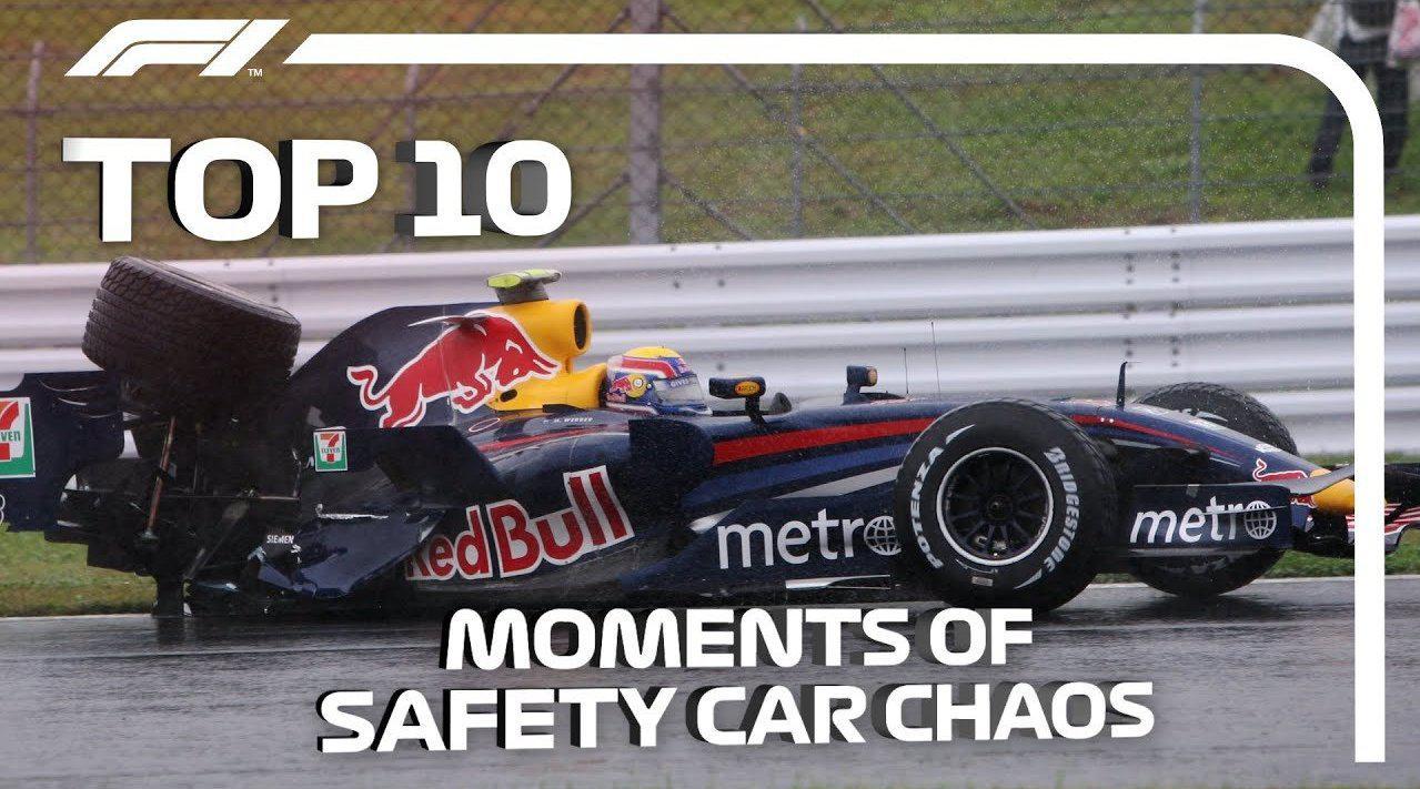 赛场上 Safety Car 安全车出动时往往会发生很多戏剧性事件 ..