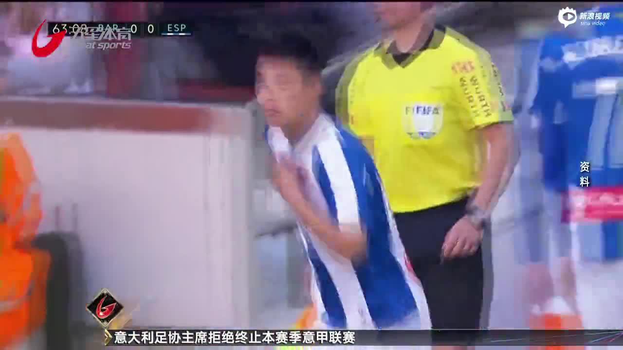 视频-武磊团队官方声明:恢复良好 但尚未再次检测