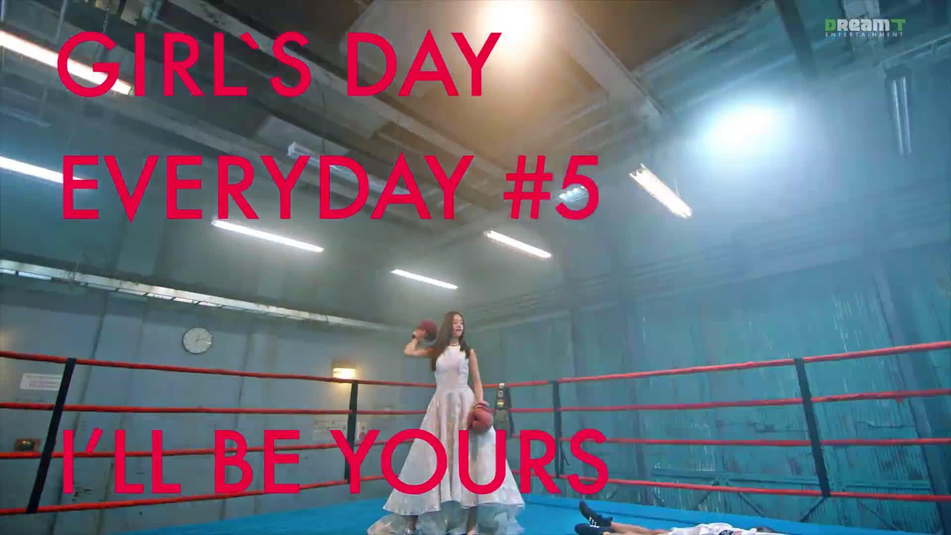 Girl's Day / I'll be yours ¹⁷⁰³²⁷ ——— 专 辑 名 称 迷 你 四