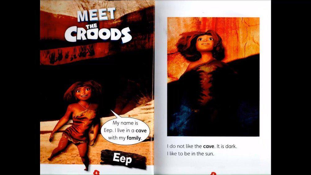 遇见疯狂原始人学乐小学预备级分级读物(2)对标欧洲语言大纲