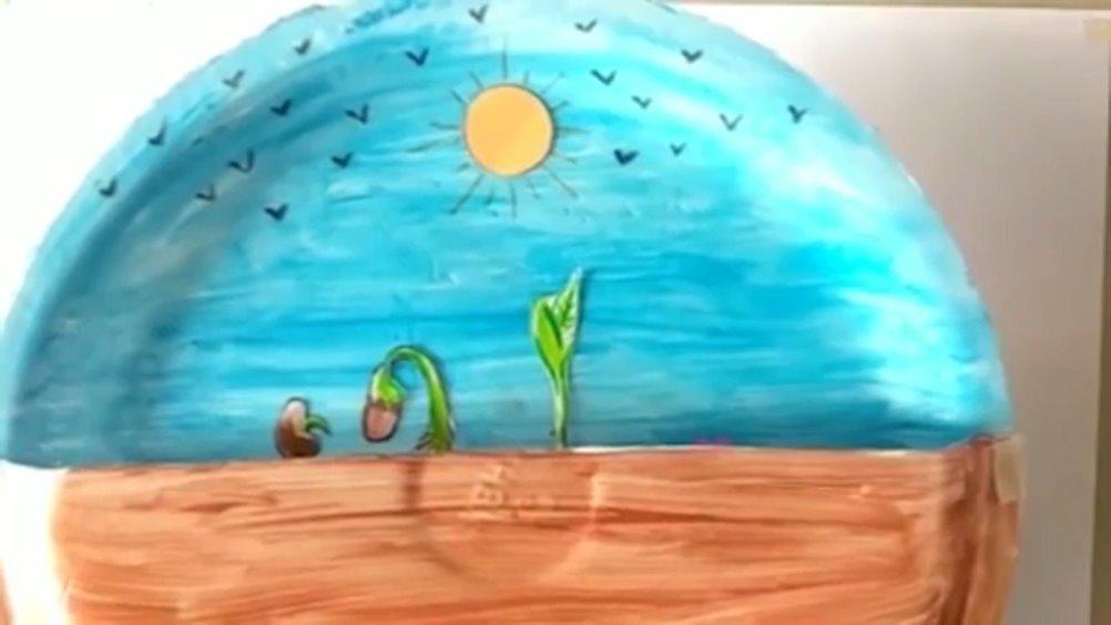 春天万物开始生长,可以和孩子一起做一个植物生长科学项目实验