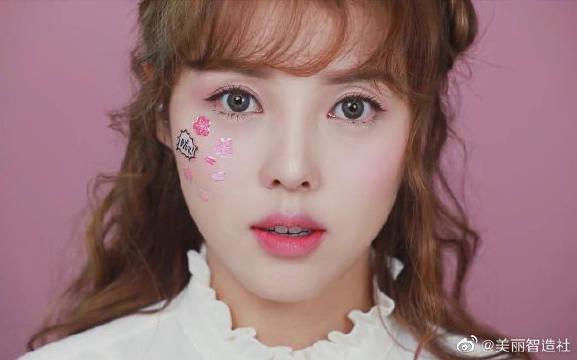 pony春季粉色妆容植村秀联名系列,大家都学起来啊!