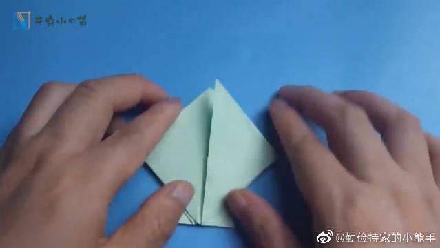 创意DIY,做个折纸宝塔,你猜这是七宝琉璃塔还是玲珑宝塔~