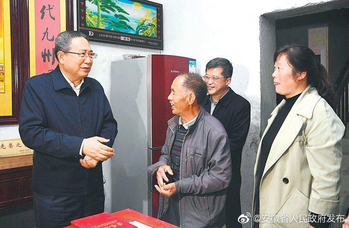 李锦斌深入金寨、霍山和岳西县