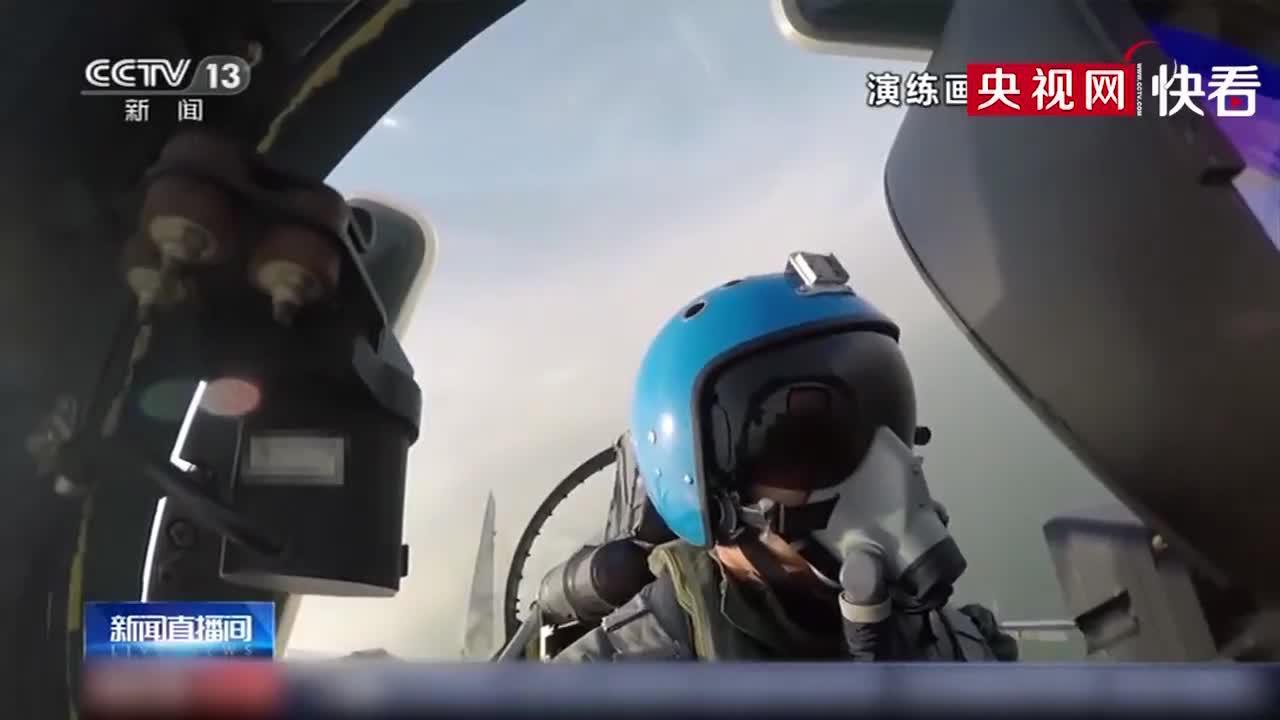 海军舰载航空兵进行歼-15实战化训练