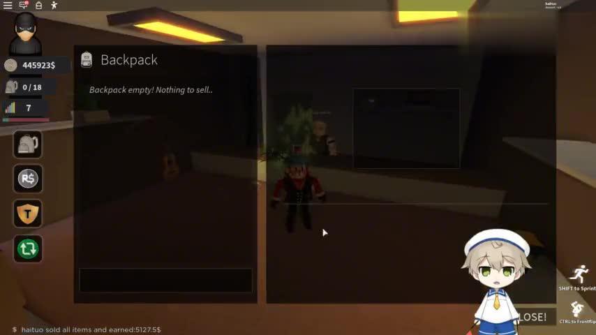 小格解说 Roblox 小偷人生模拟器:欢乐小偷模拟器!抢劫珠宝店?