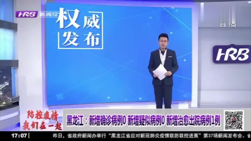 """黑龙江本地新冠肺炎确诊病例实现""""清零"""",医院救治任务均已结束"""