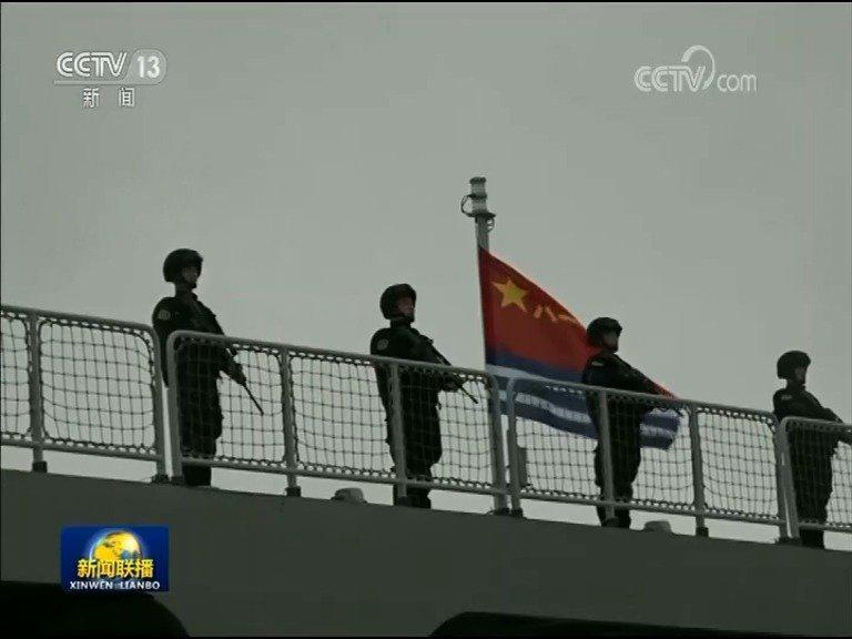 海军第33批护航编队凯旋  抵达青岛