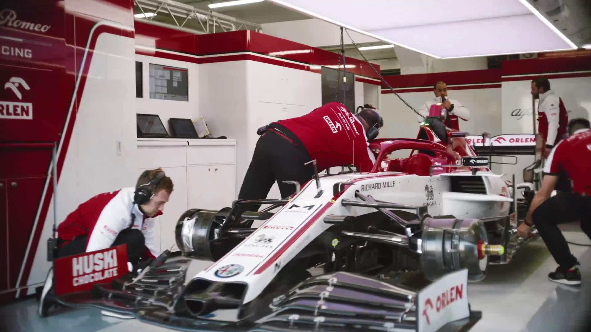 Alfa Romeo Racing ORLEN 2020 宣传片!确实是刚上传不久 ..