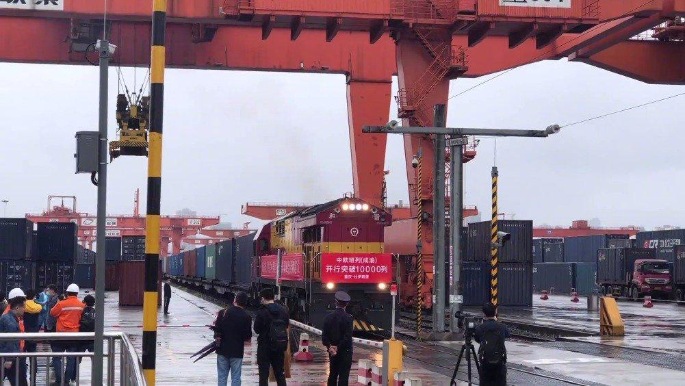 重庆成都两大铁路港开启20项合作