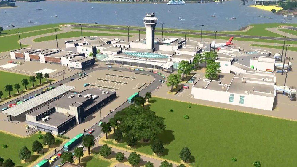 《城市:天际线》日落港DLC正式发布