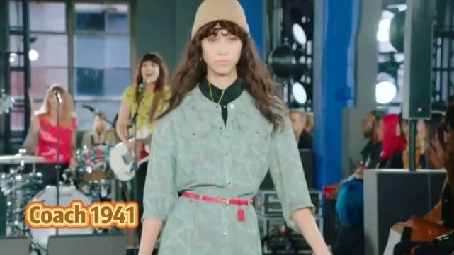 水原希子纽约时装周为Coach走秀,怎么样?