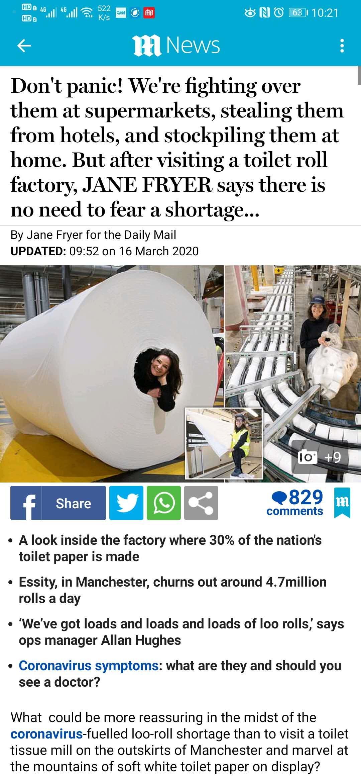 新冠疫情来了,为什么全世界都在抢厕纸?