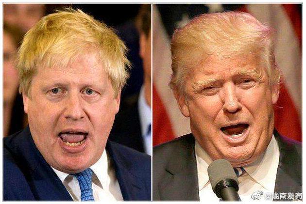 """白宫称特朗普祝愿英国首相约翰逊""""早日康复"""""""