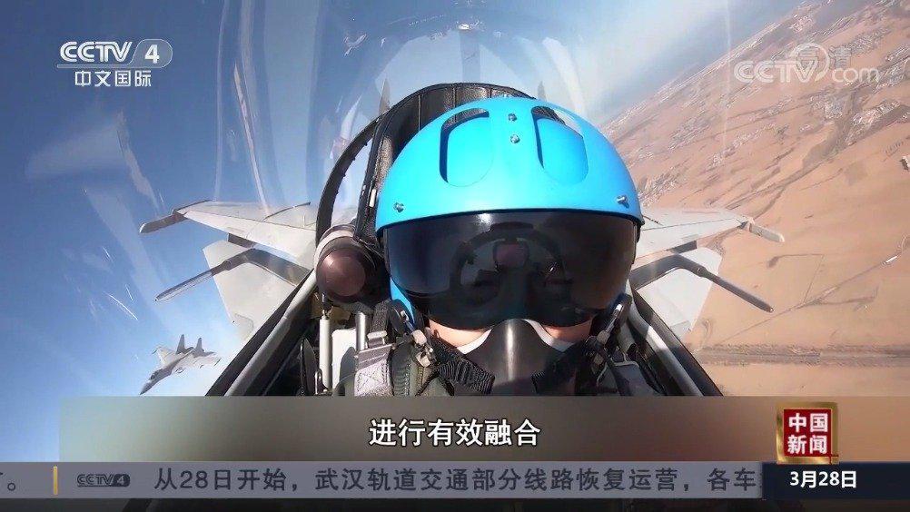 中国海军歼-15舰载机高强度空中对抗