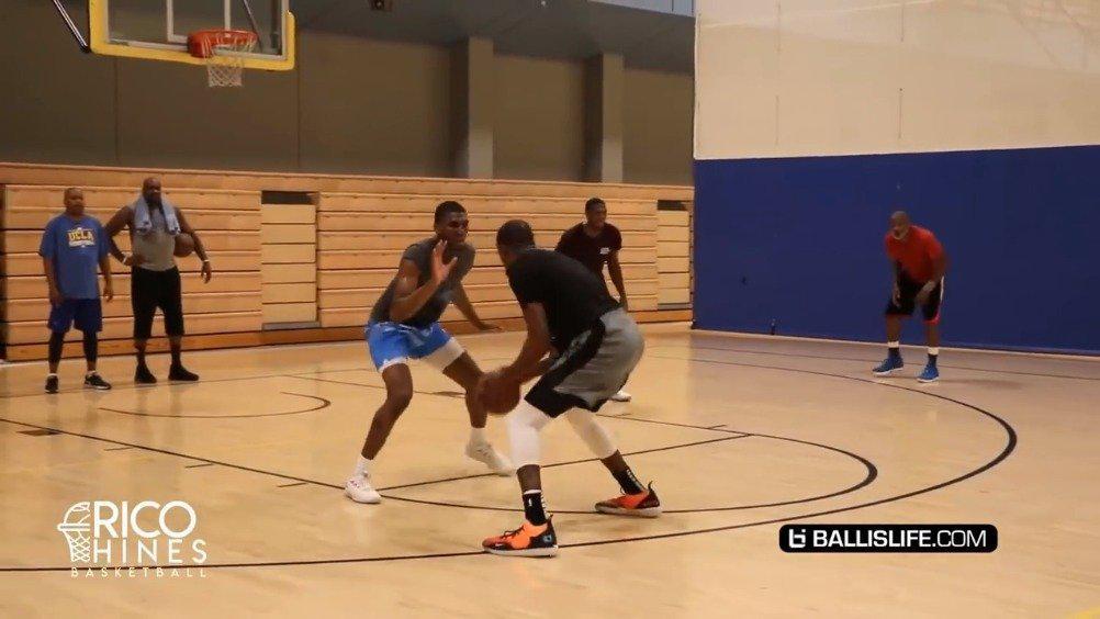 干货!Kevin Durant 2v2 King of The Court vs NBA Pros! 杜兰特,卢