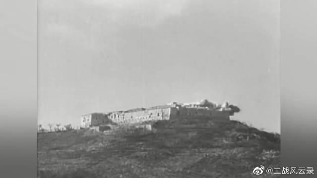 二战德军在建筑内外布置机枪防御,结果盟军派来大型轰炸机炸平,遭遇