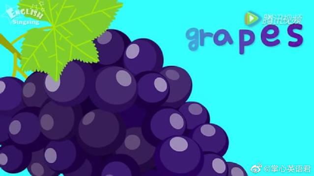英语教学视频之Fruits和vegetables,最简单的单词