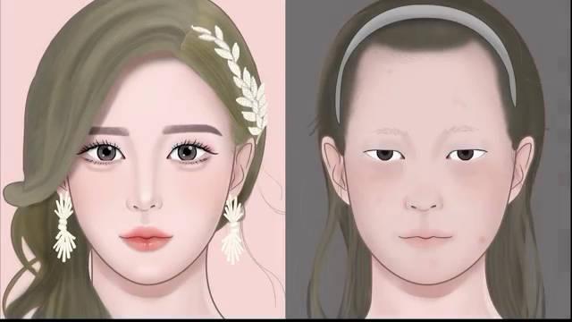 💅🏻  •LULUPANG •惊人的转变!卸除婚礼妆容/中国TIK-TOK风格