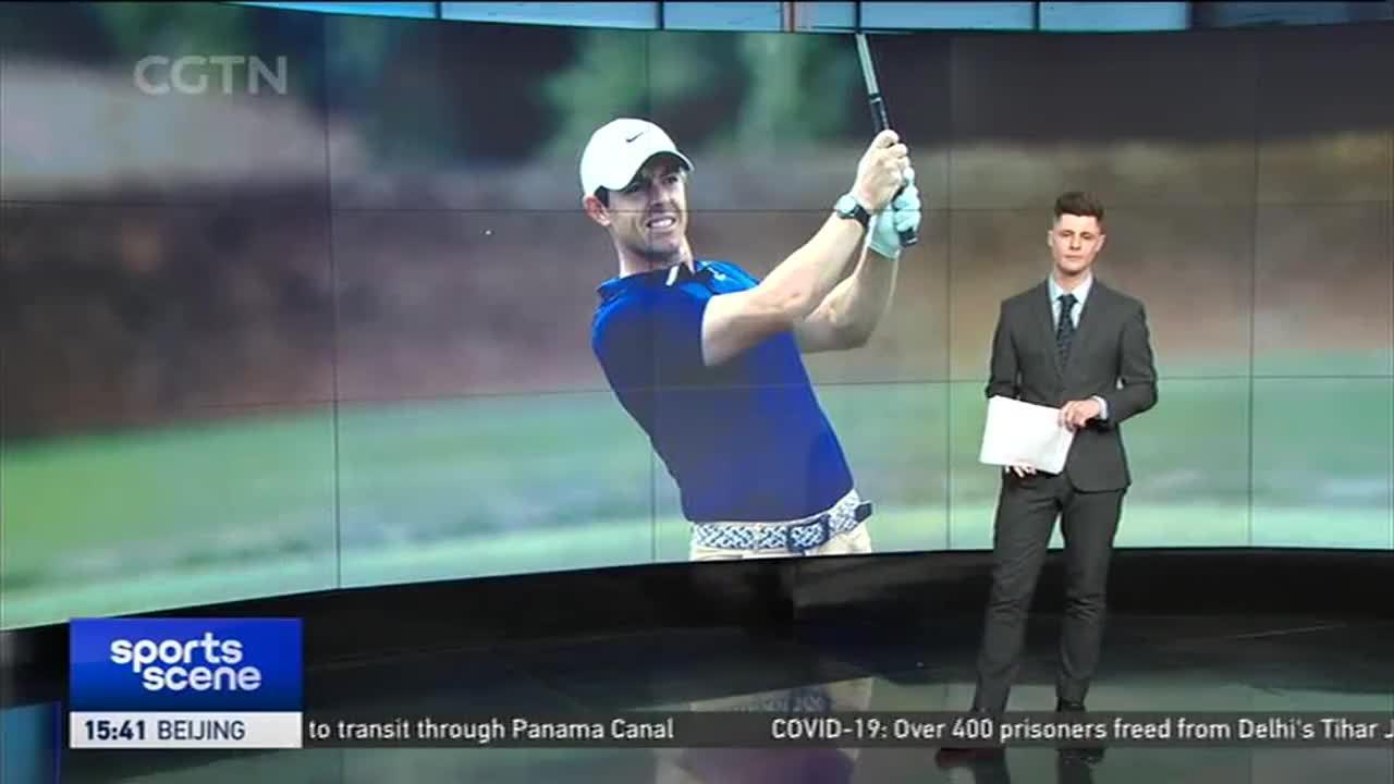 麦克罗伊与多位欧巡赛高尔夫球手致敬抗疫英雄