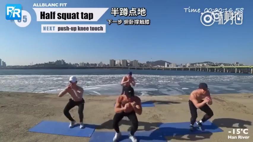 型男TABATA健身法,每天3组,每组20秒,什么胸肌、腹肌、人鱼线,都