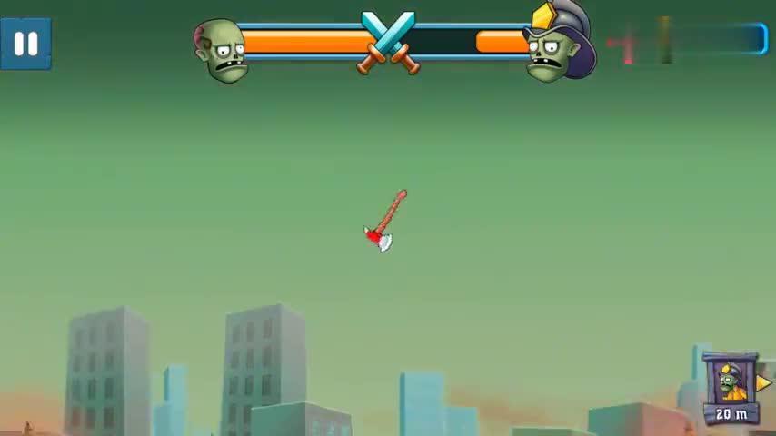 僵尸弓箭手 囚犯僵尸VS消防员僵尸,用撬棍把对手爆头喷血两米远
